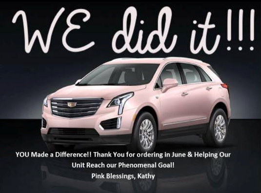 Kathy Laughlin used Facebook Video to achieve Mary Kay Cadillac Unit status