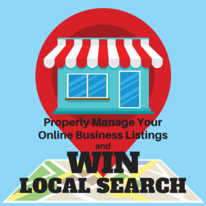 WIN LOCAL Search with Exactly Write WIN LOCAL Listings Management Service