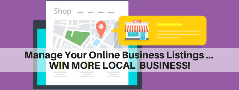 Manage your online business listings and WIN LOCAL business
