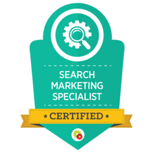 Michele Peterson is a Certified Search Marketing Specialist