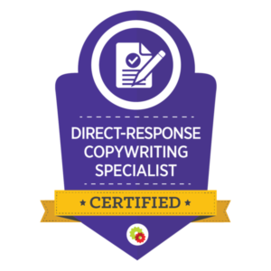 Digital Marketer Certified Direct Response Copywriting Specialist